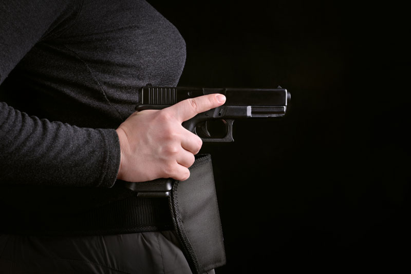 How Even PETITE Women Can Conceal Carry Big Guns Without