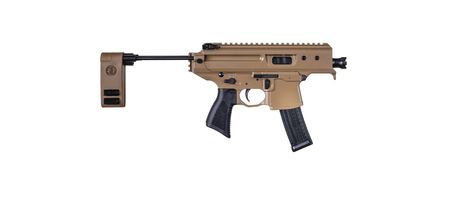 Want An Ultra-Compact Submachine Gun? Sig Sauer Has A New